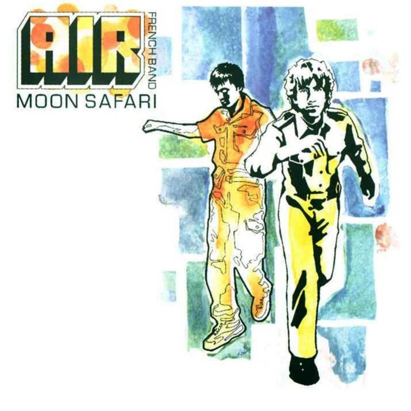 moon safari cover